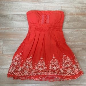 Windsor Coral Summer Dress